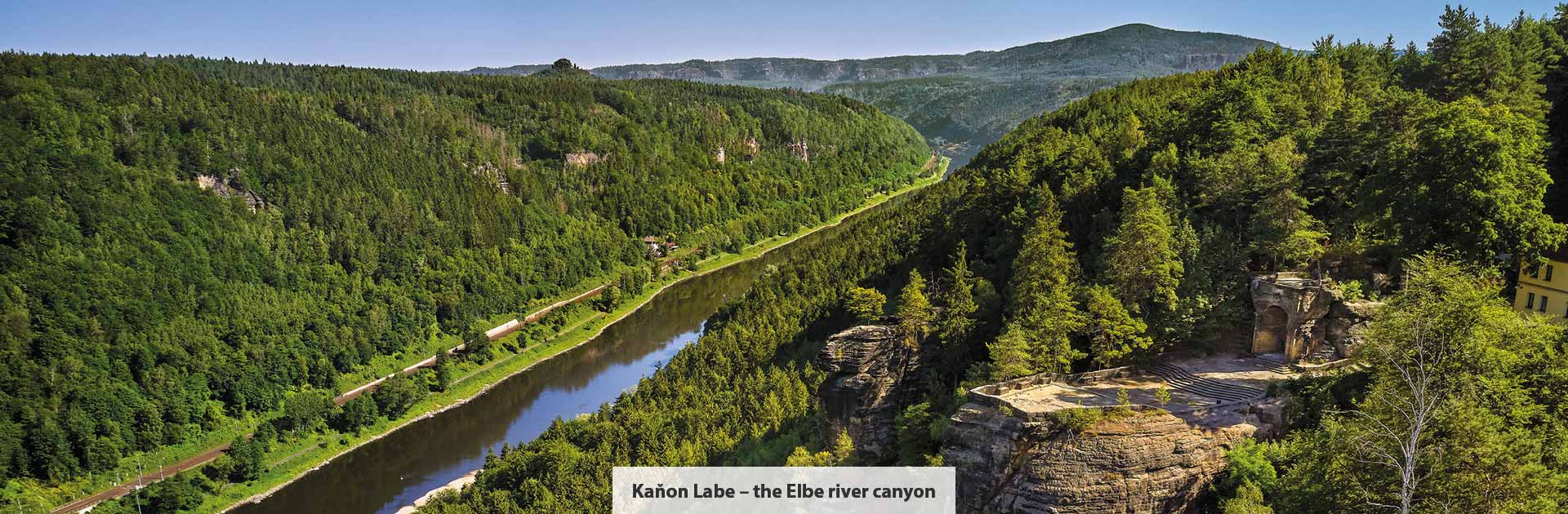 Kaňon Labe - Česká republika UNESCO