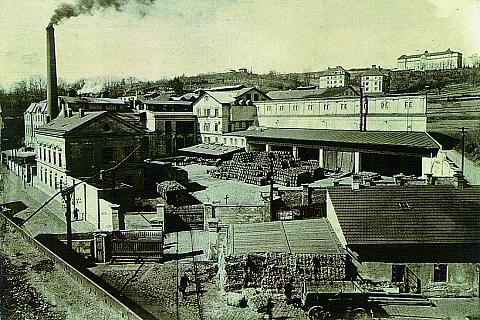 Historické jádro Telče tvoří podlouhlé náměstí